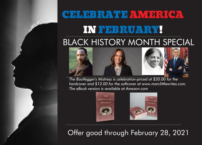 BOOTLEGGER'S BLACK HISTORY MONTH PROMOTIONAL CARD